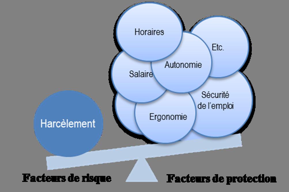 Figure 1.1 Exemple de balance facteurs de risque/facteurs de protection